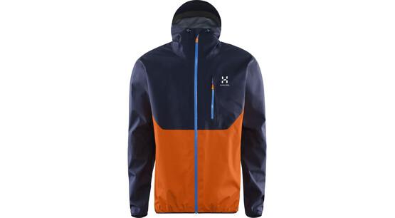 efebdb20 haglöfs gram comp jakke orange blå find outdoortøj sko & udstyr på nettet dk
